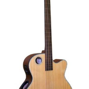 EBR3-N4F Acoustic-Electric Bass, Fretless