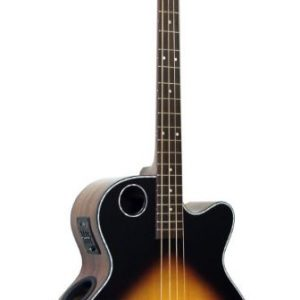 EBR1-TB4 Acoustic-Electric Bass, Tobacco Burst
