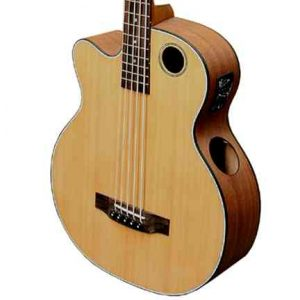 EBR3-N5L Acoustic-Electric Bass Guitar, Lefty